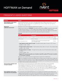 Hoffman-FAQ